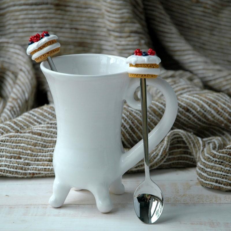 """картинка Чайная ложка """"Торт Наполеон"""" - DishWishes.Ru"""