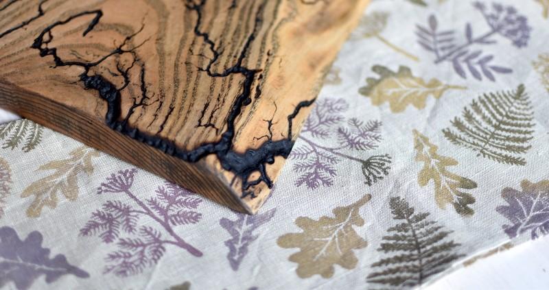 "картинка Салфетка с набивным рисунком ""Дикий лес"" - DishWishes.Ru"