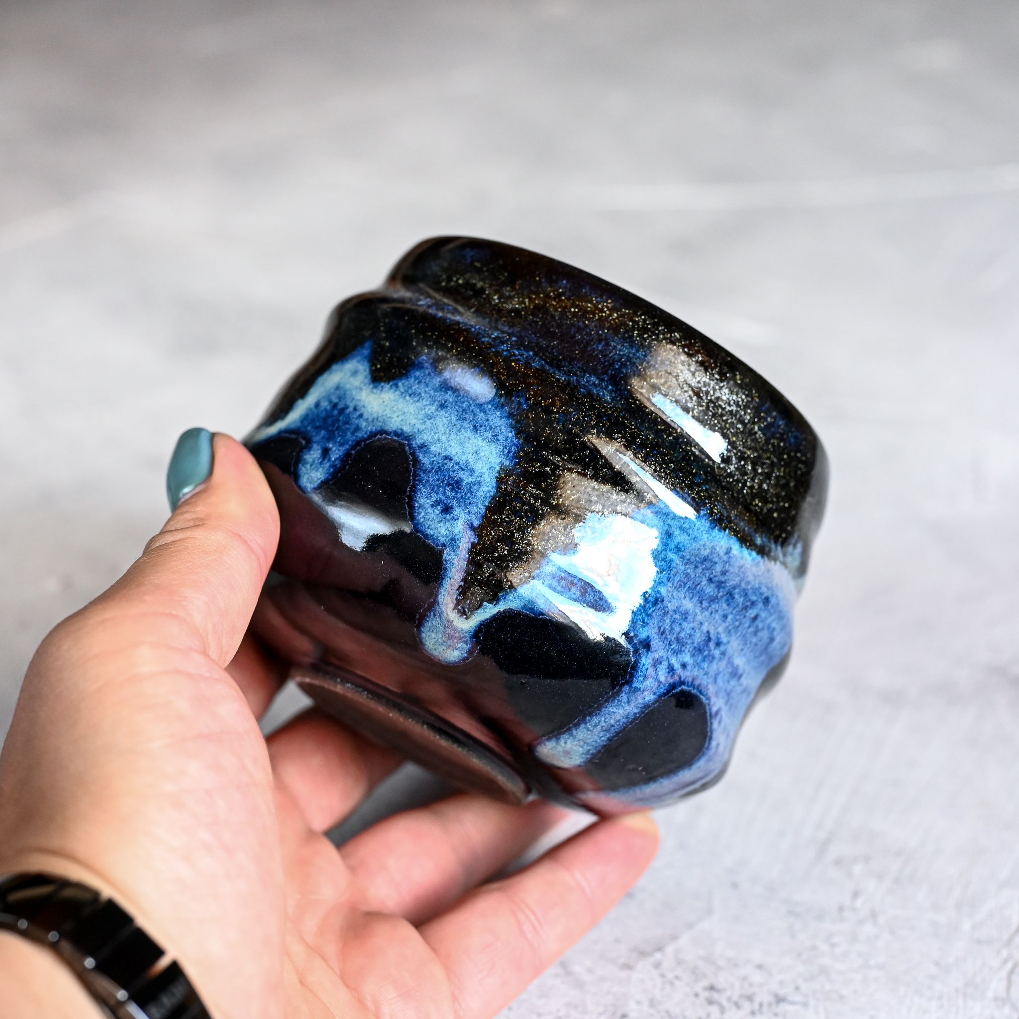 картинка Керамический стакан юноми Марии Левиной 13 - DishWishes.Ru
