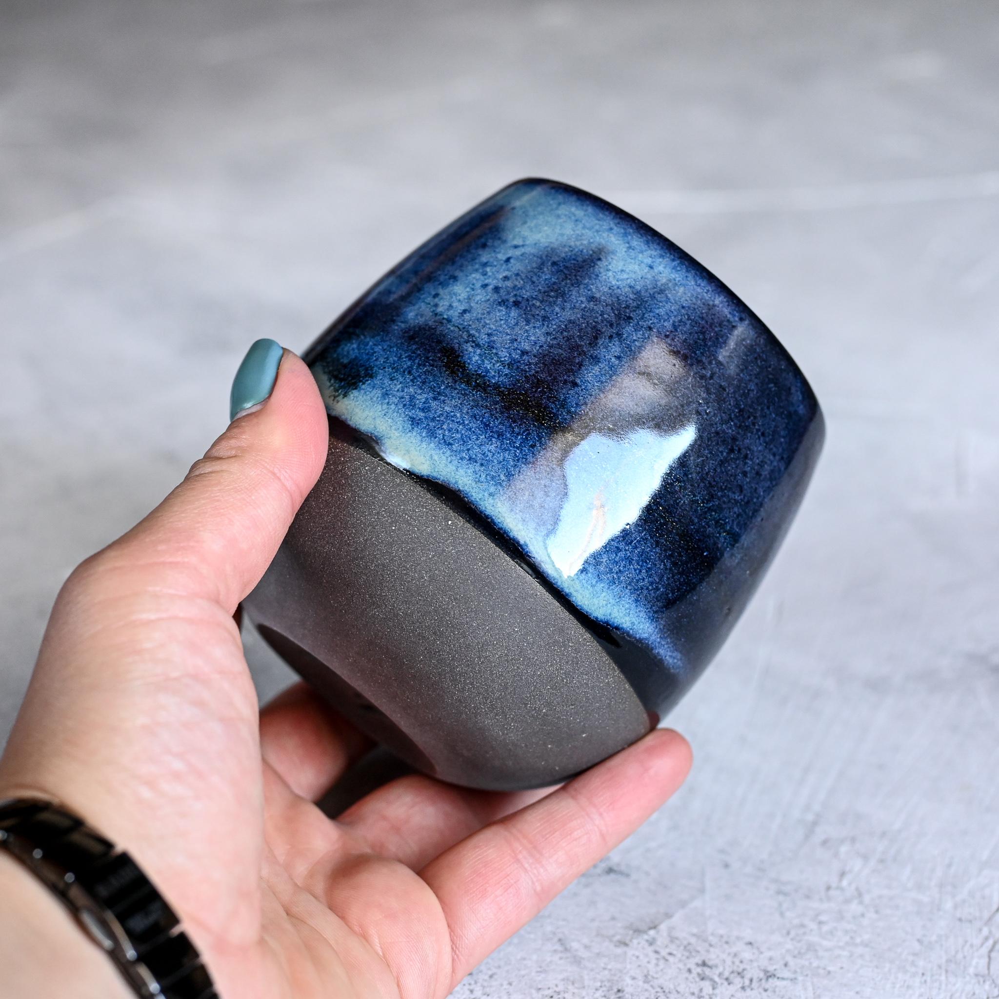 "картинка Керамический стакан Марии Левиной ""Космос"" 5 - DishWishes.Ru"