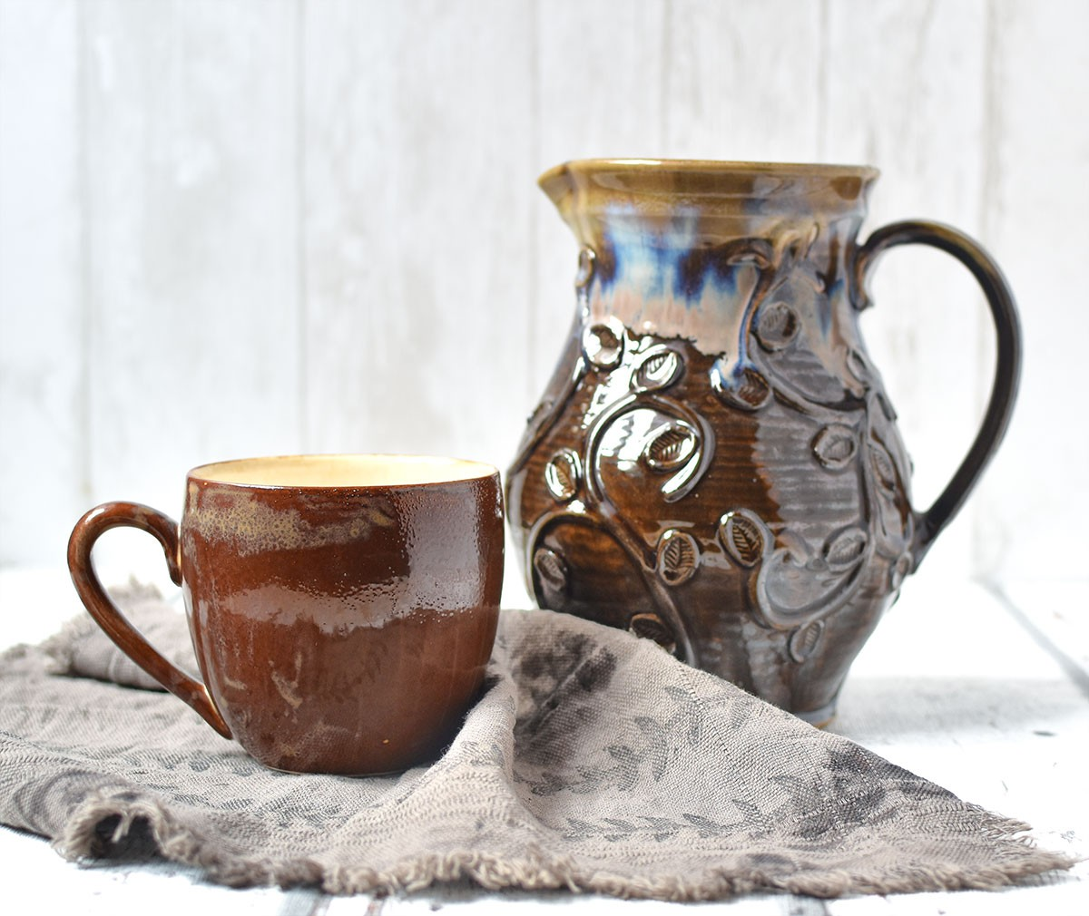 """картинка Кружка ручной работы """"Кофе"""" - DishWishes.Ru"""