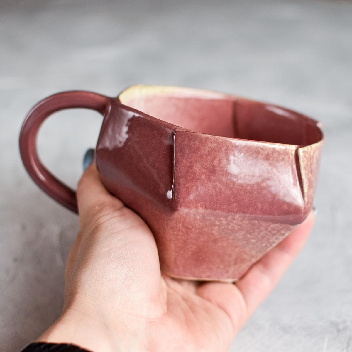 "картинка Чашка ручной работы ""ABC"" 5 - DishWishes.Ru"