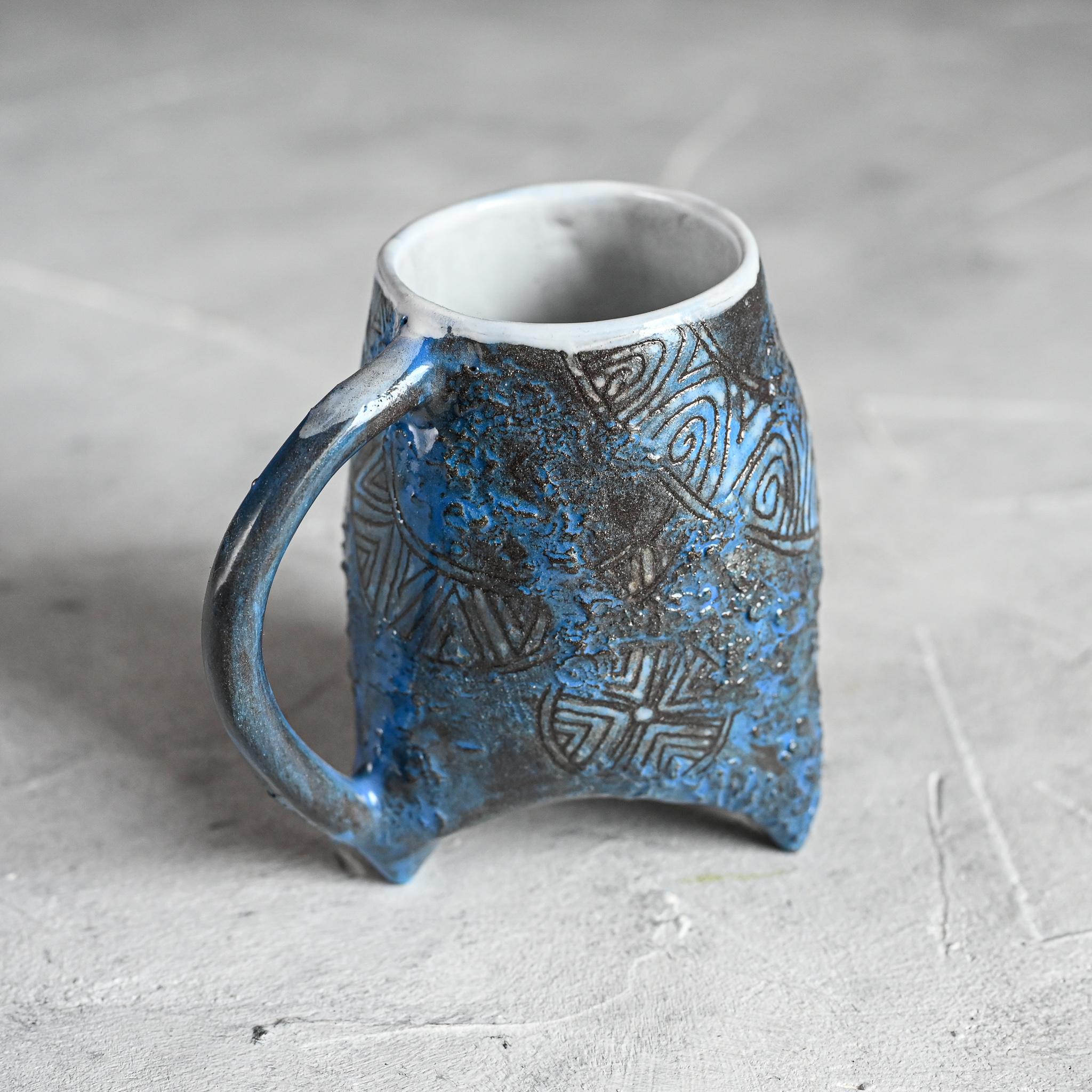 """картинка Небольшая чашка на ножках """"Майя"""" 1 - DishWishes.Ru"""