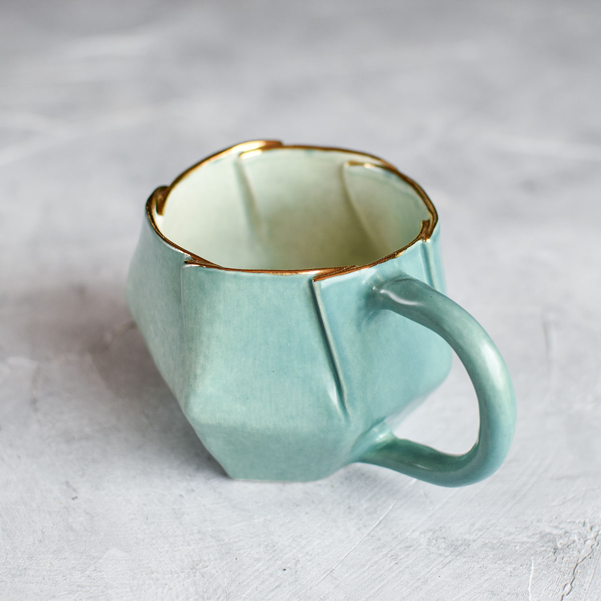 "картинка Чашка ручной работы ""ABC"" 3 - DishWishes.Ru"