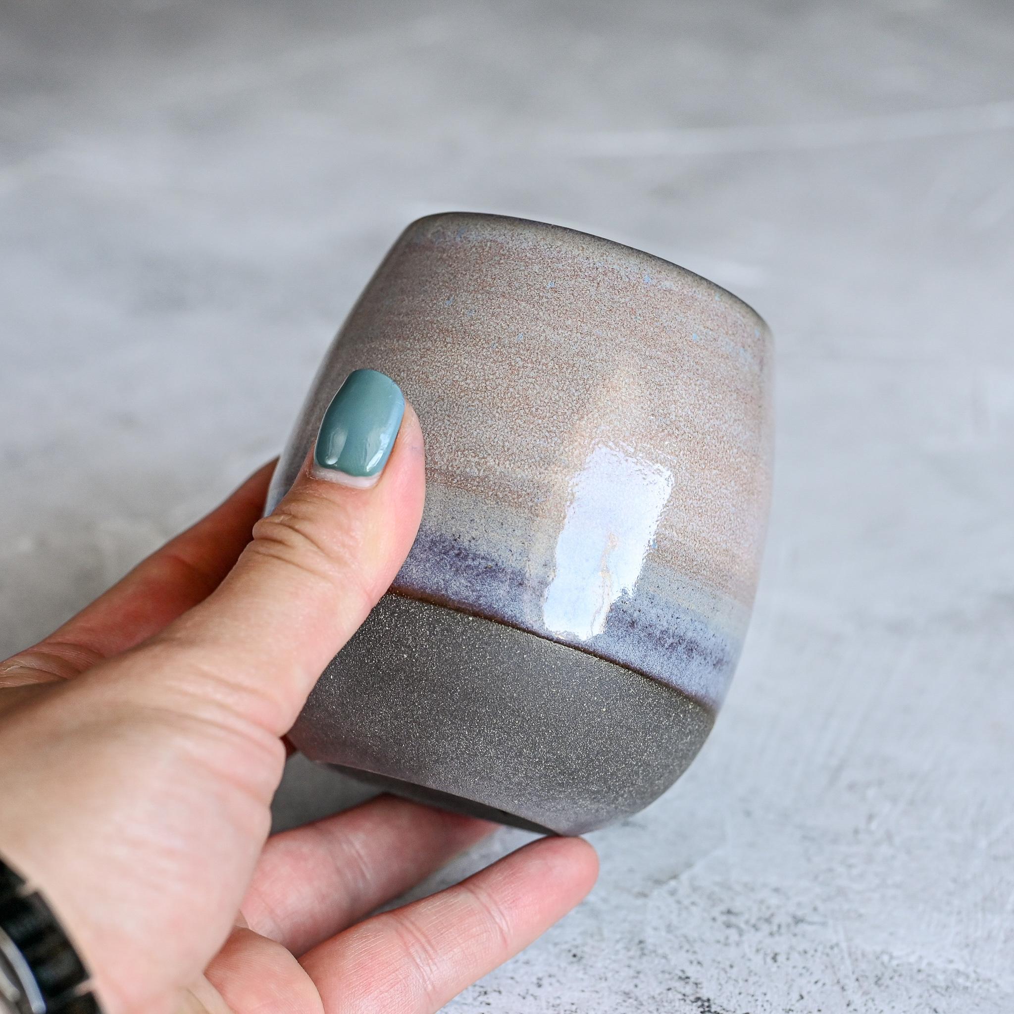 картинка Керамический стакан Марии Левиной малый 3 - DishWishes.Ru