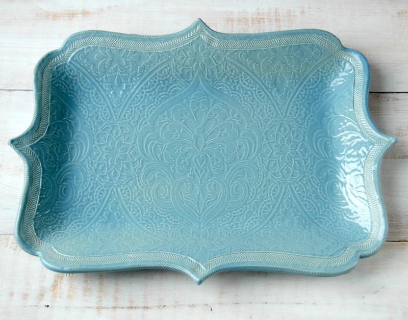 картинка Набор Chip&Dip голубой - DishWishes.Ru