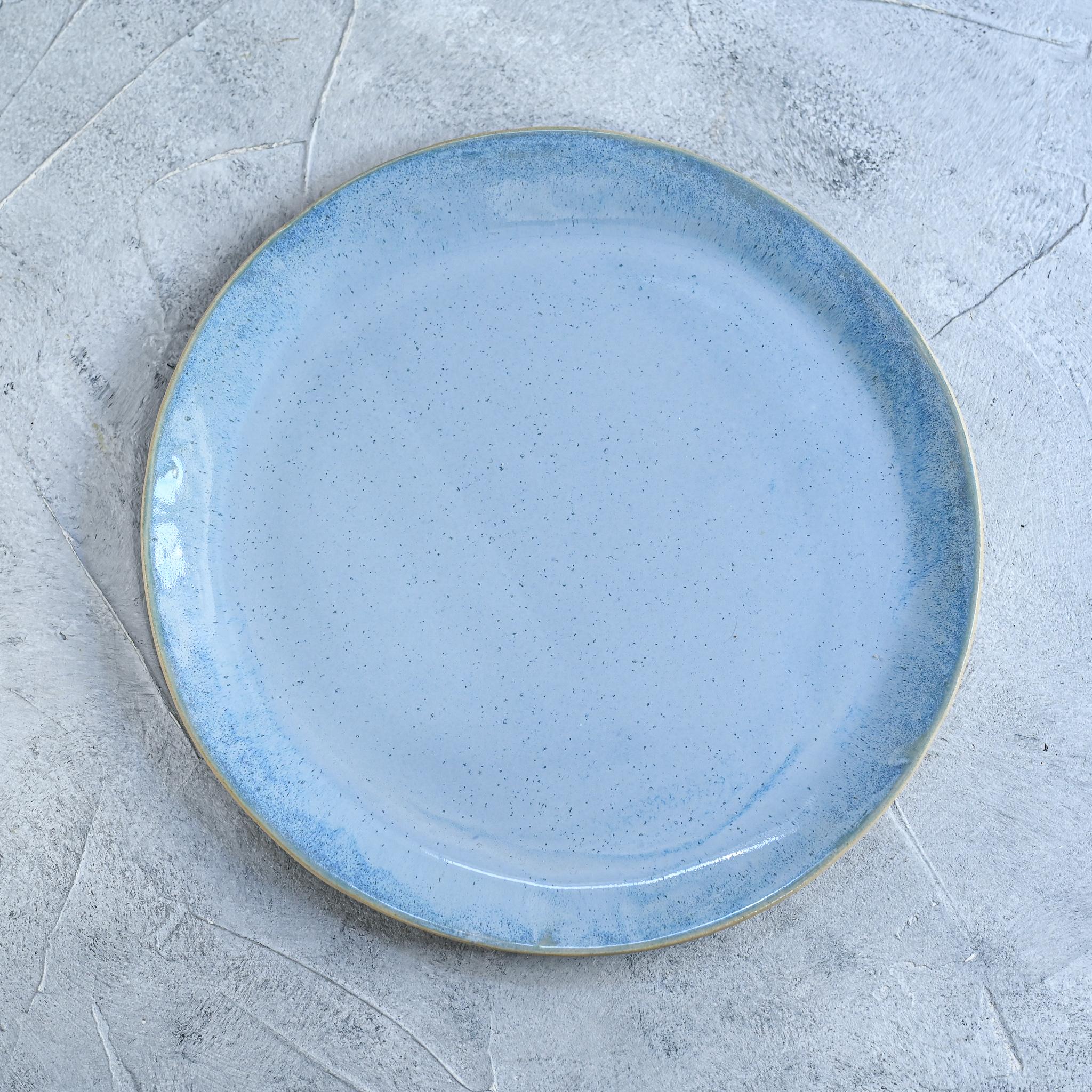 """картинка Керамическая тарелка """"Небо"""" - DishWishes.Ru"""