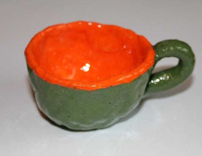 картинка Маленькая кофейная чашка - DishWishes.Ru