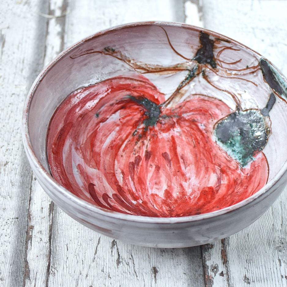 "картинка Керамический салатник ""Яблоко"" - DishWishes.Ru"
