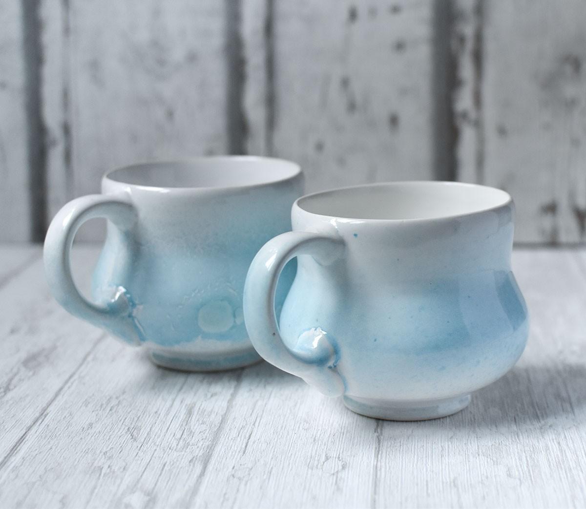 "картинка Керамическая чашка ""Морозное утро"" - DishWishes.Ru"
