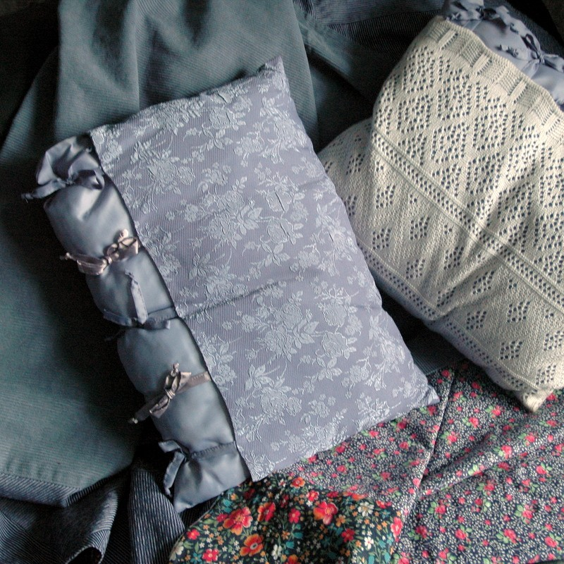 картинка Плед текстильный ручной работы. - DishWishes.Ru