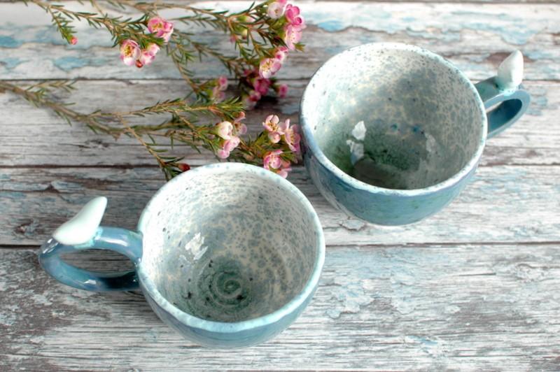 """картинка Чашка с птичкой """"Вода"""" - DishWishes.Ru"""