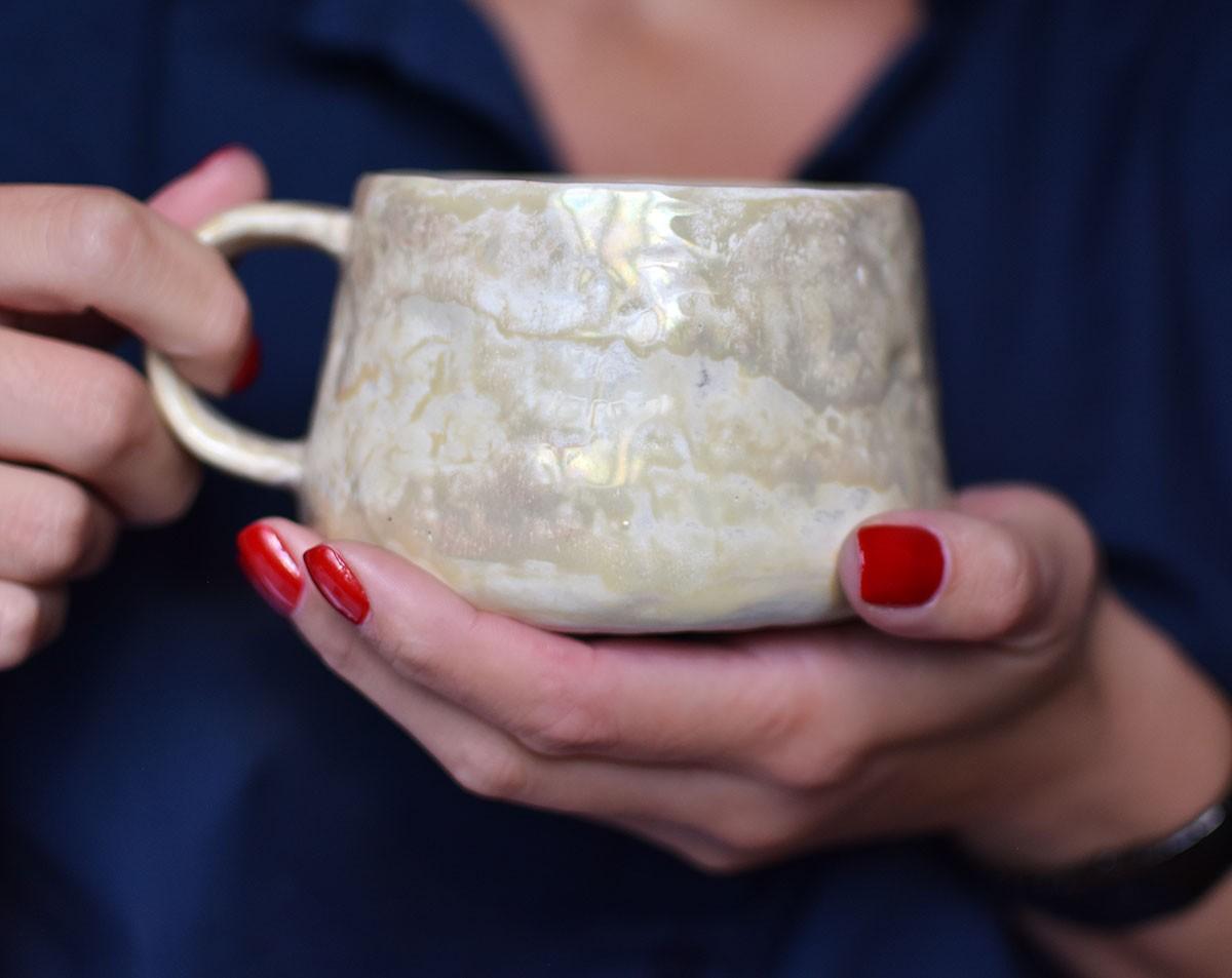 """картинка Чашка ручной работы """"Венера"""" - DishWishes.Ru"""