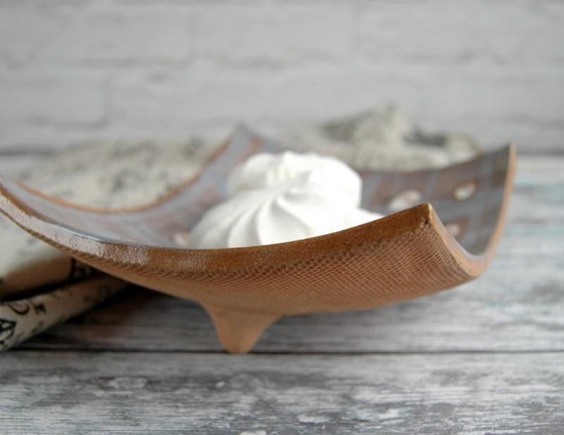 "картинка Керамическая тарелка для суши ""Тартан"" - DishWishes.Ru"