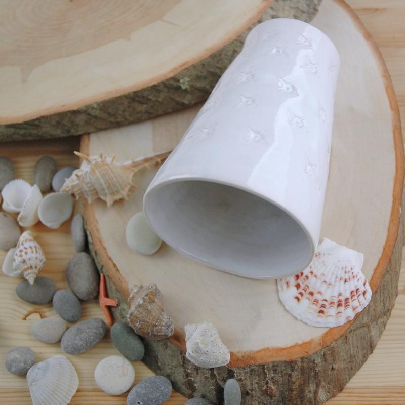 """картинка Керамическая ваза с эффектом """"Подушка"""" - DishWishes.Ru"""