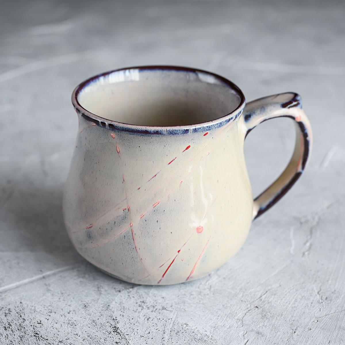 картинка Чашка из черного фарфора А.Заболотникова 3 - DishWishes.Ru
