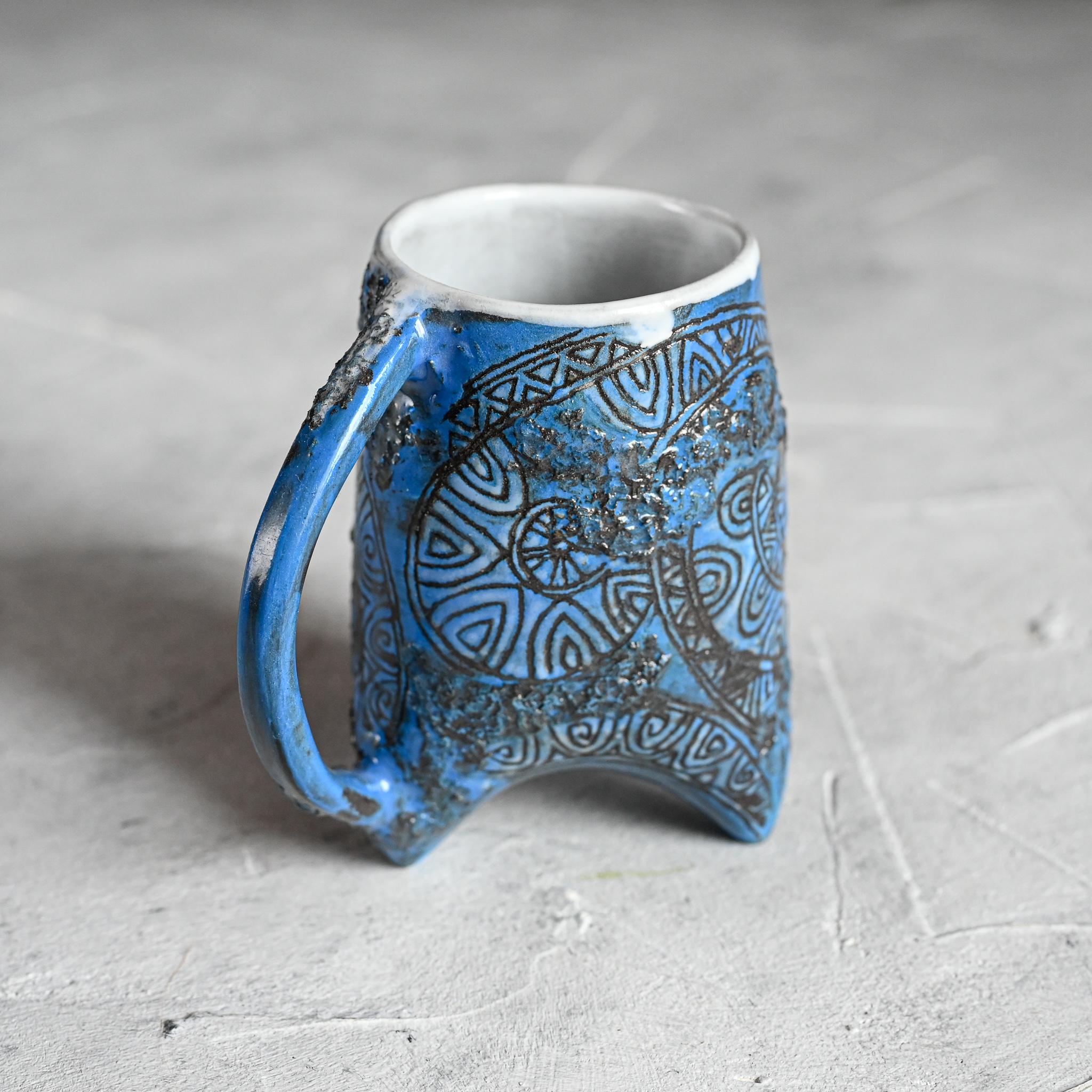 """картинка Небольшая чашка на ножках """"Майя"""" 2 - DishWishes.Ru"""