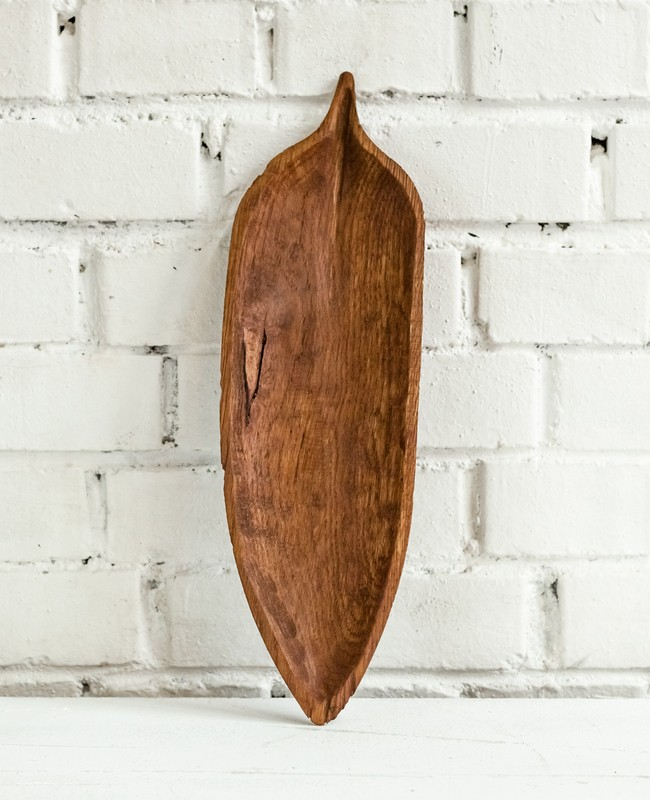 "картинка Деревянная тарелка FUGA ""Ива"" - DishWishes.Ru"