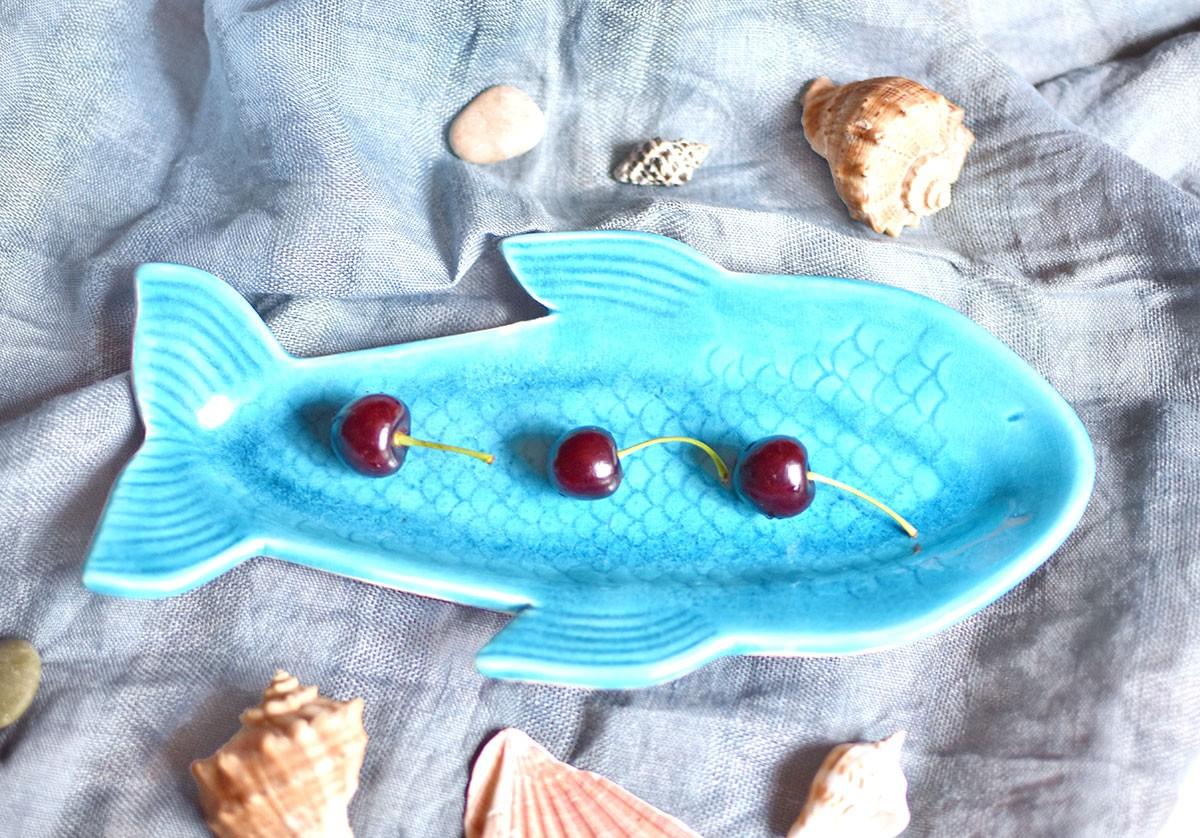 "картинка Тарелка в форме рыбы ""Славик"" - DishWishes.Ru"