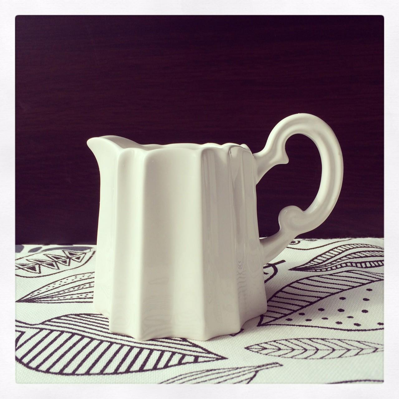 картинка Молочник белый - DishWishes.Ru