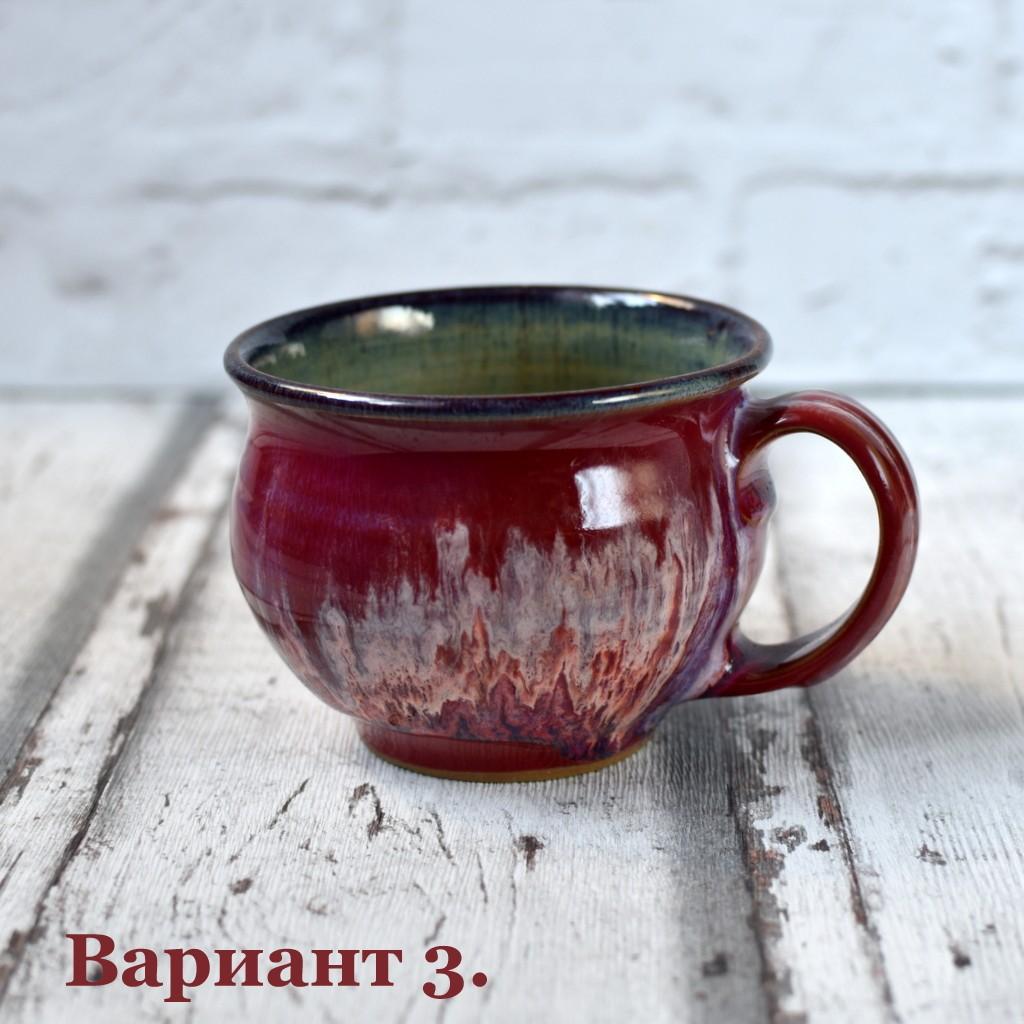 """картинка Керамическая чашка """"Вишневое варенье"""" - DishWishes.Ru"""