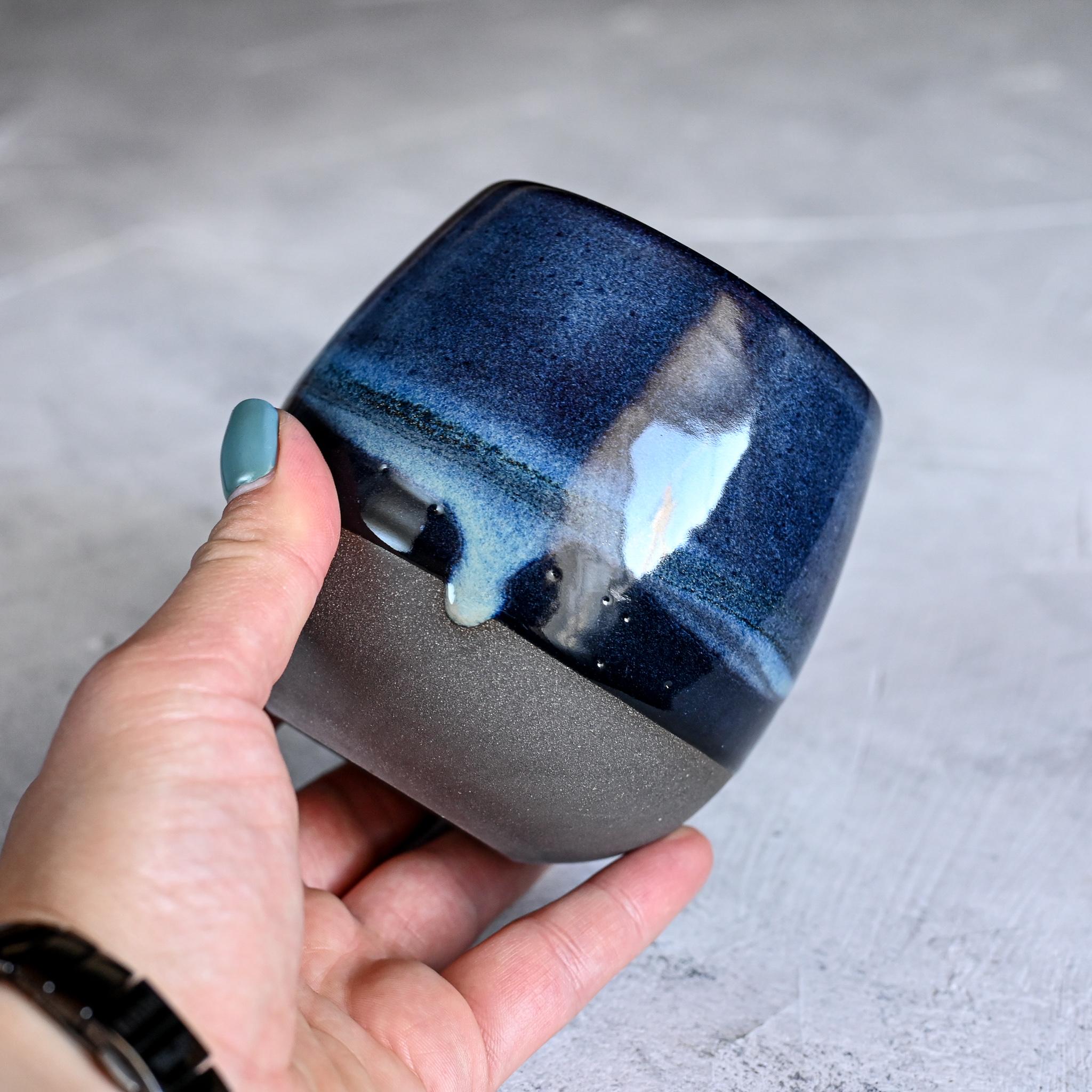 "картинка Керамический стакан Марии Левиной ""Космос"" 9 - DishWishes.Ru"