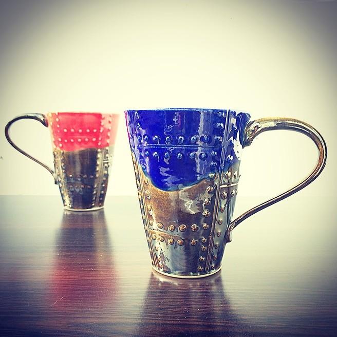 "картинка Кофейная кружка ""Металл"" - DishWishes.Ru"