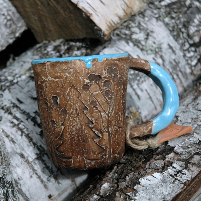 "картинка Чашка ""Лесные озера"" - DishWishes.Ru"