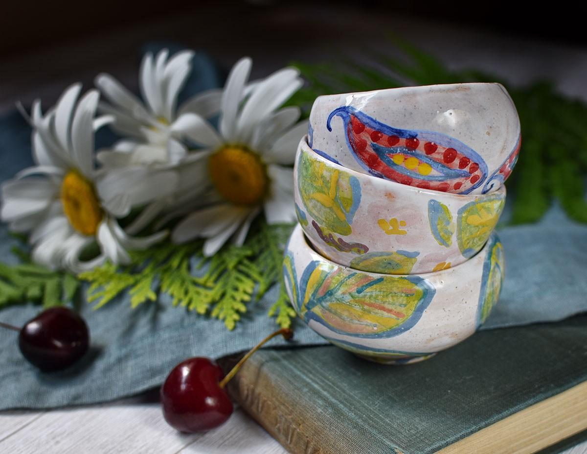 картинка Керамические розетки с росписью - DishWishes.Ru