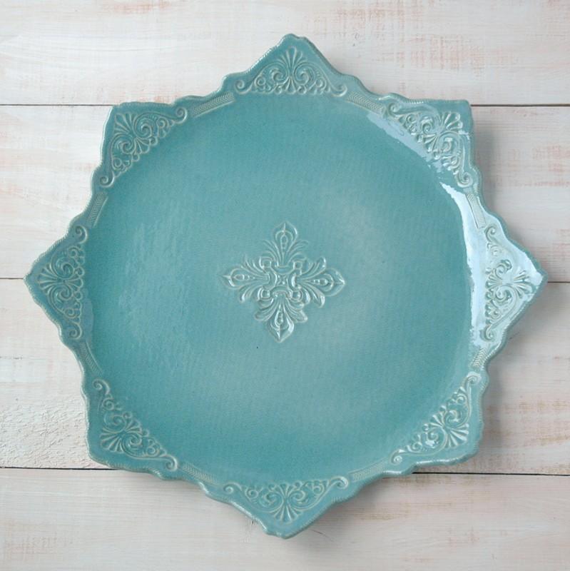 картинка Большое керамическое блюдо - DishWishes.Ru