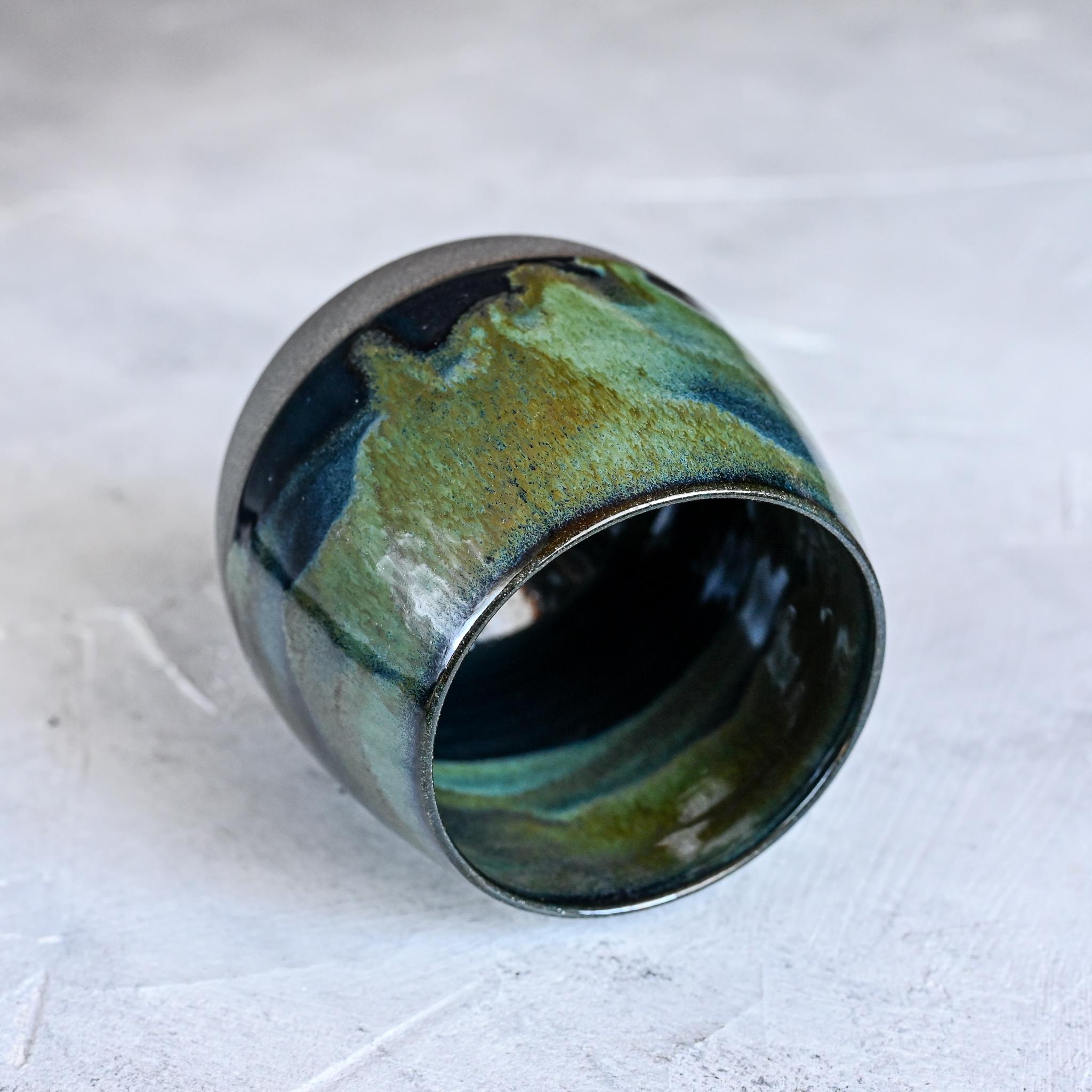 картинка Керамический стакан Марии Левиной 21 - DishWishes.Ru