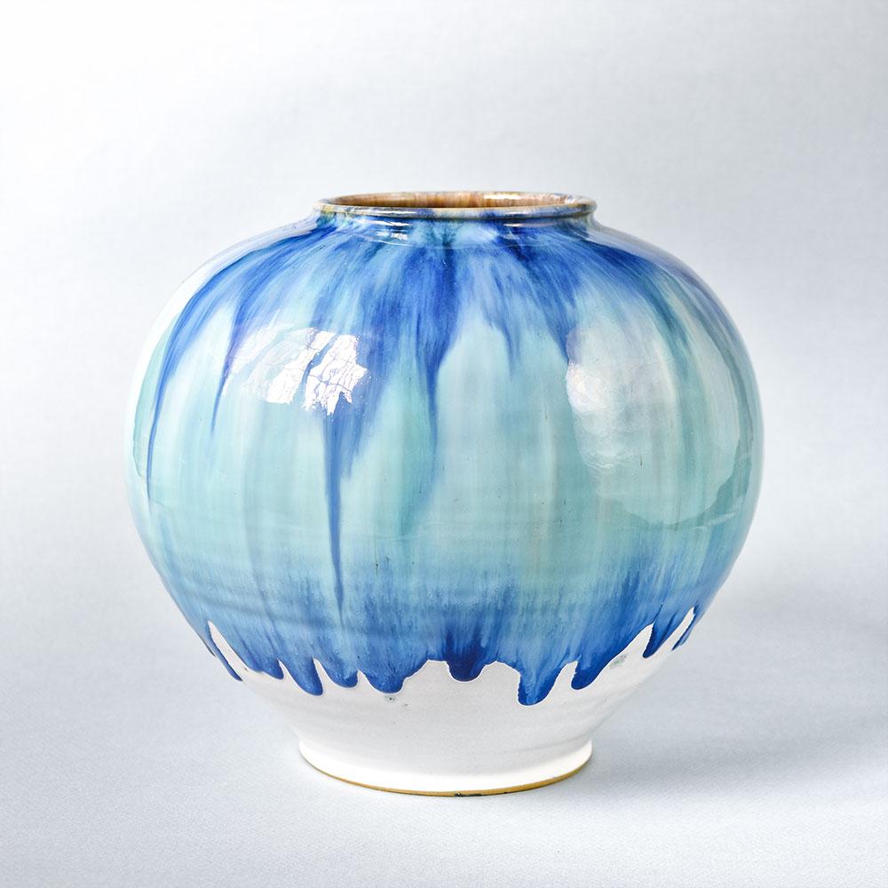 "картинка Керамическая ваза круглая ""Планета"" - DishWishes.Ru"