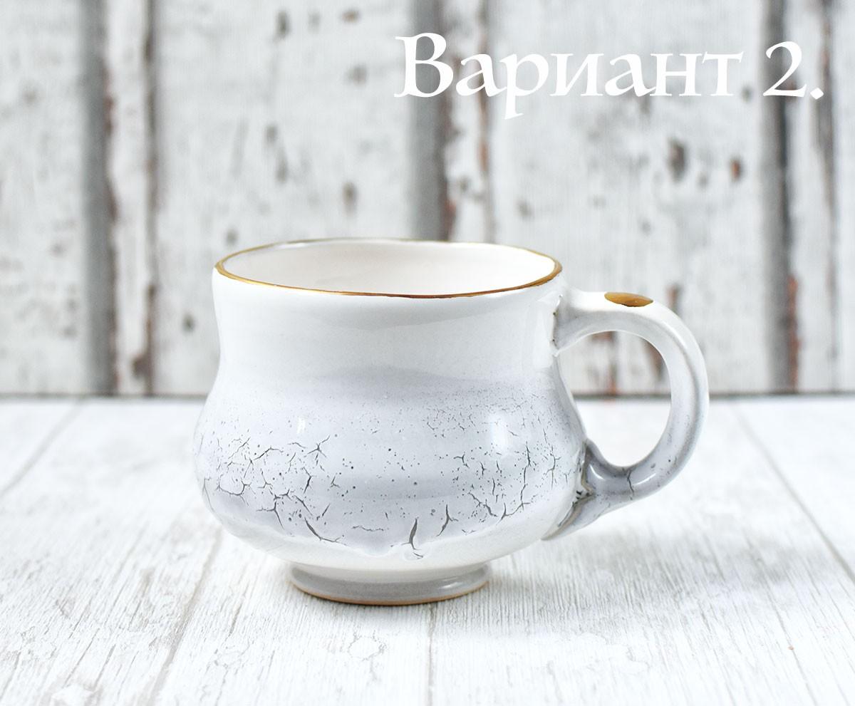 картинка Чашка бутон с золотом - DishWishes.Ru