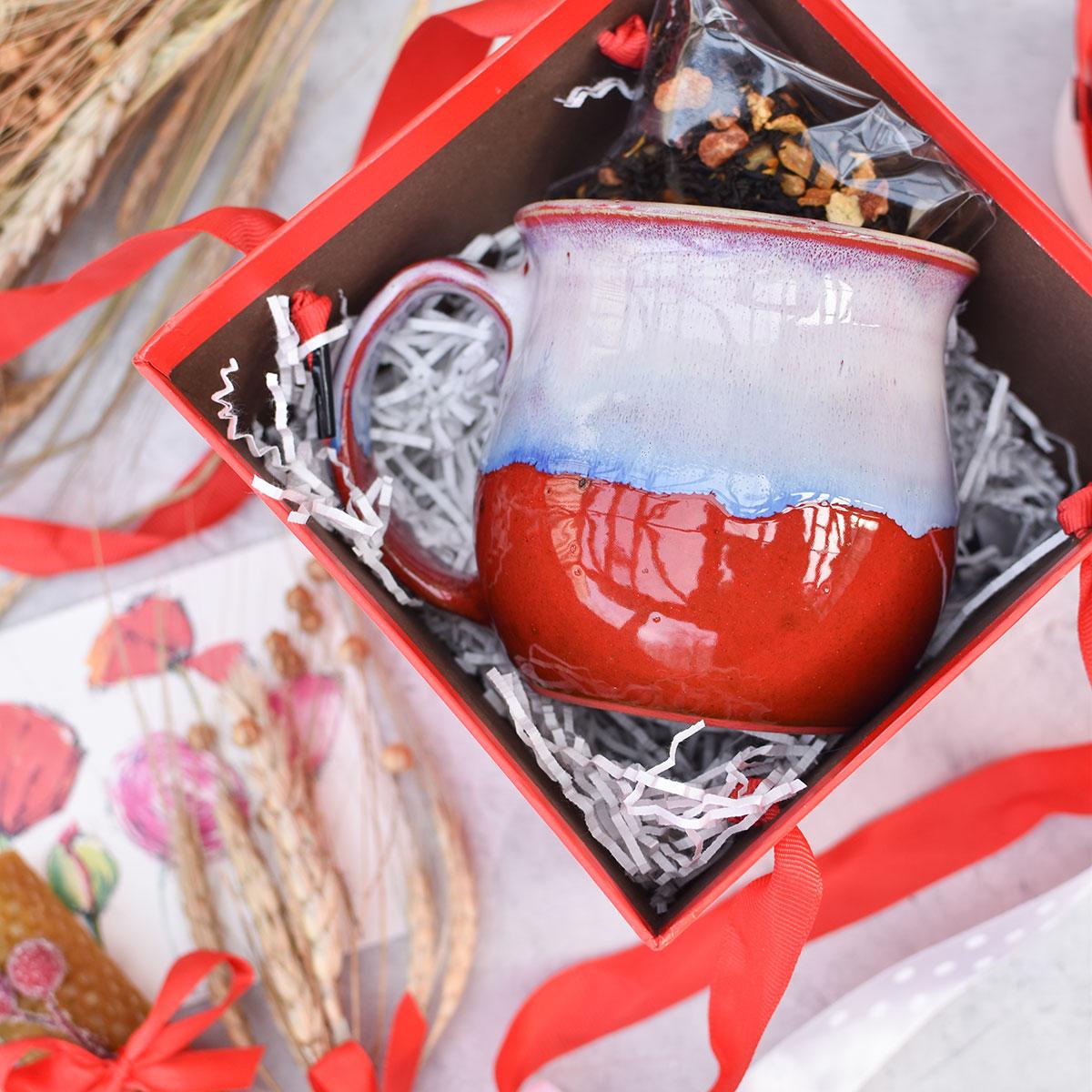 """картинка Подарочный набор #7 """"Красный"""" - DishWishes.Ru"""