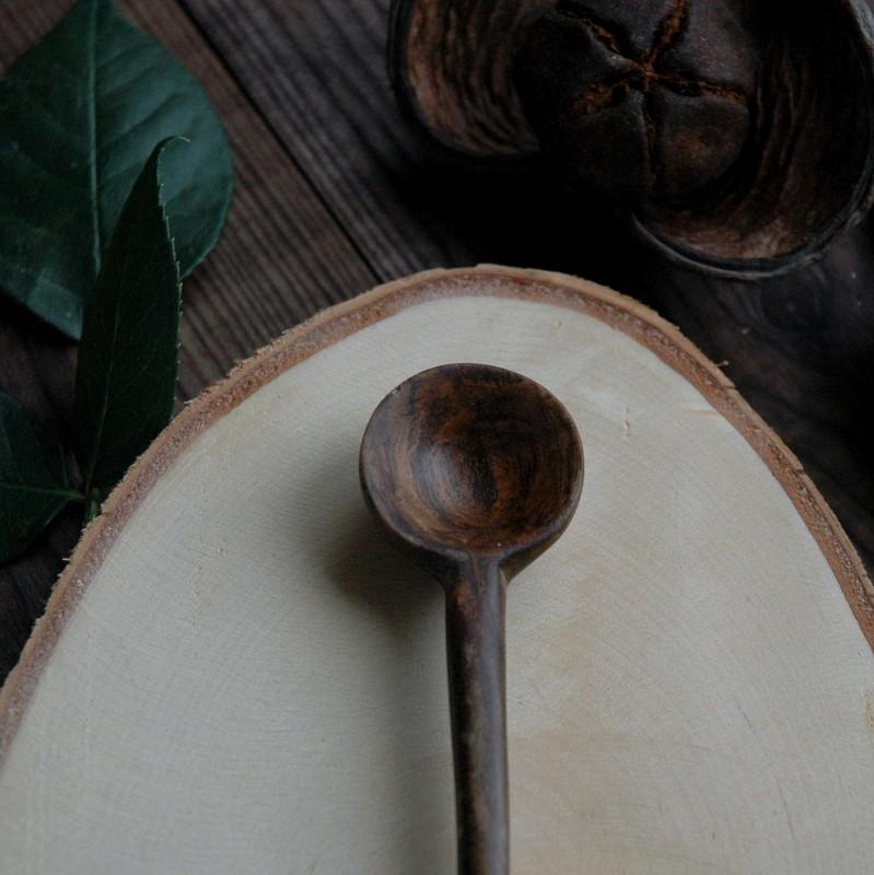 "картинка Деревянная ложка ""Орех"" - DishWishes.Ru"