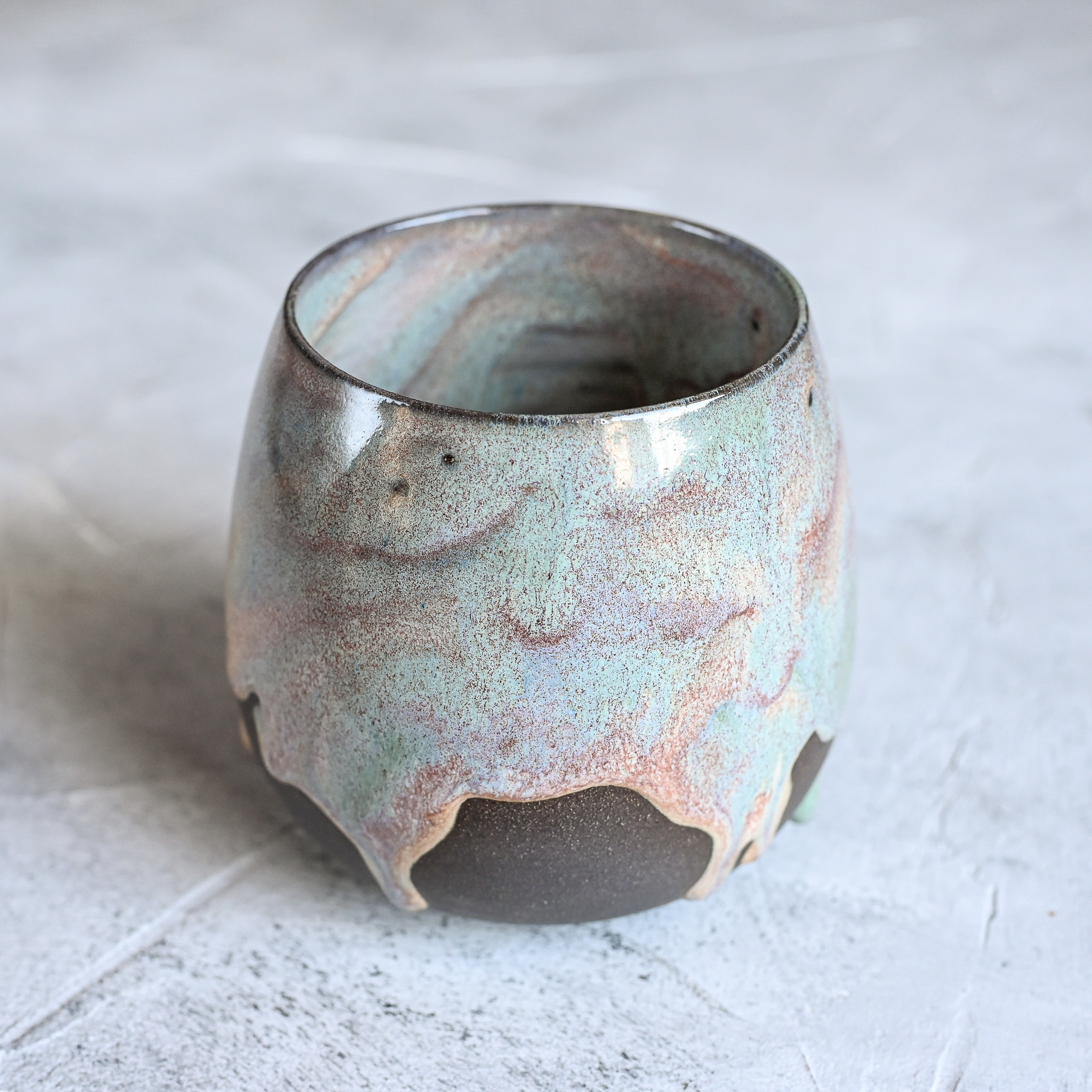 картинка Керамический стакан Марии Левиной 10 - DishWishes.Ru