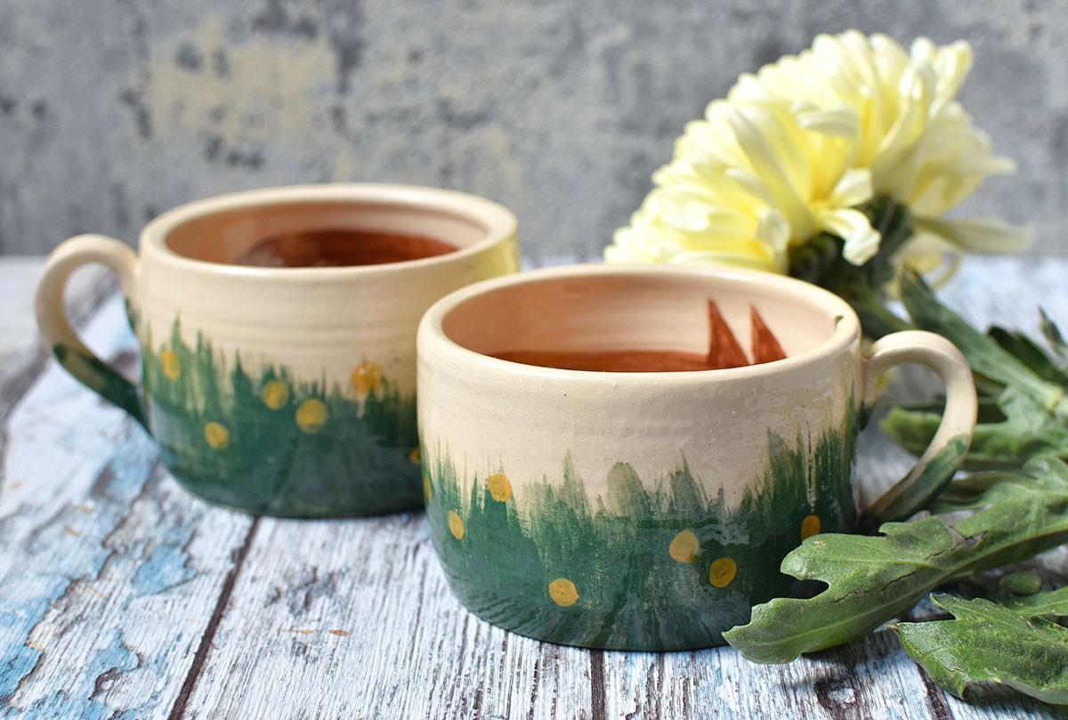 """картинка Чашка """"Влюбленные лисы"""" - DishWishes.Ru"""