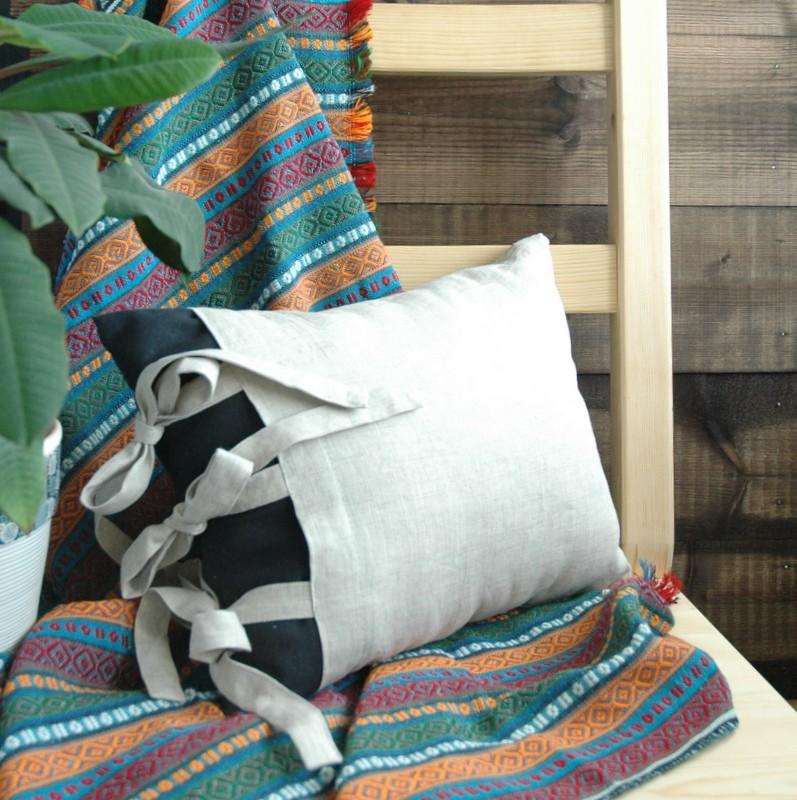 картинка Подушка с завязками - DishWishes.Ru