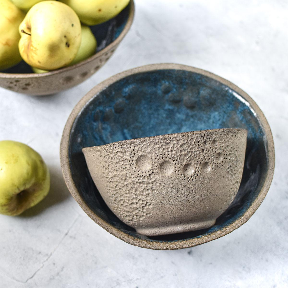 "картинка Керамический салатник ""Лунная соната"" - DishWishes.Ru"