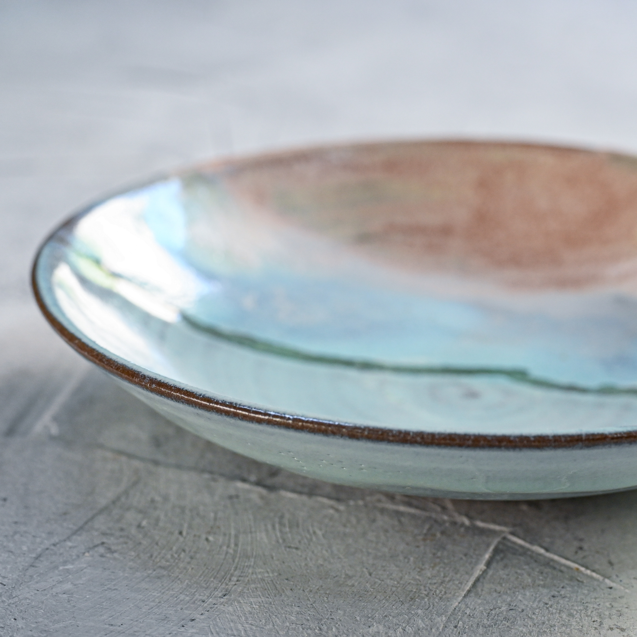 """картинка Тарелка из серии """"Япония"""" - море 3 - DishWishes.Ru"""