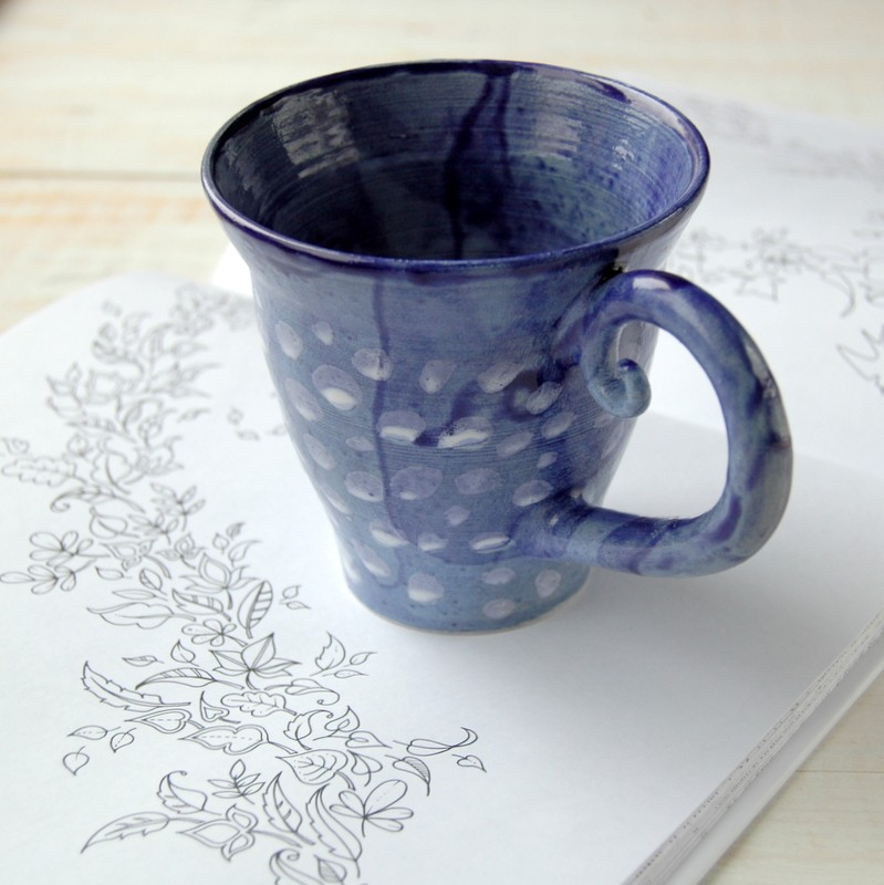 "картинка Чашка ""Ноябрь"" - DishWishes.Ru"