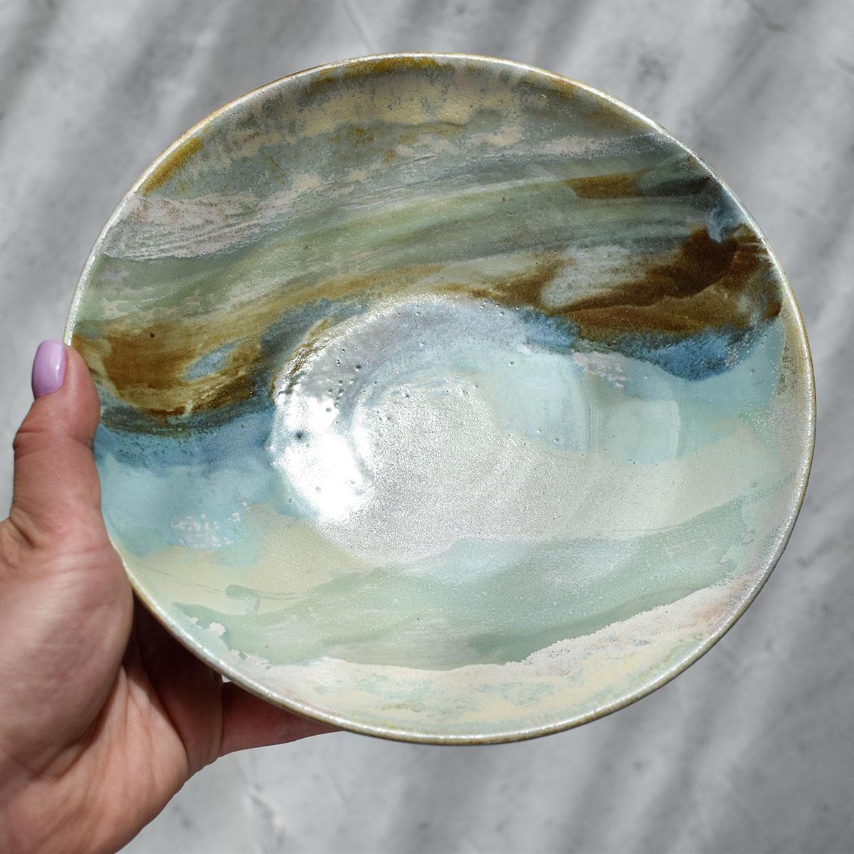 "картинка Тарелка из серии ""Япония"" - большая 2 - DishWishes.Ru"