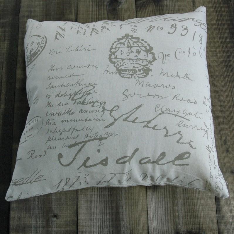 "картинка Чехол для подушки ""Буквы"" - DishWishes.Ru"