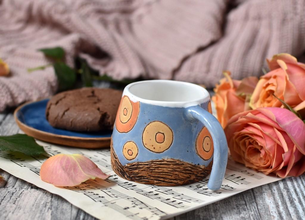 "картинка Кофейная пара ""Ван Гог"" - DishWishes.Ru"