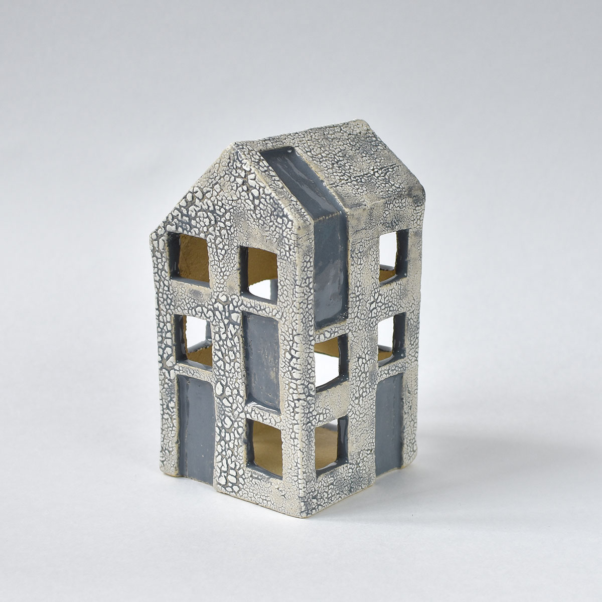"картинка Керамический домик-подсвечник ""Дерево"" - DishWishes.Ru"