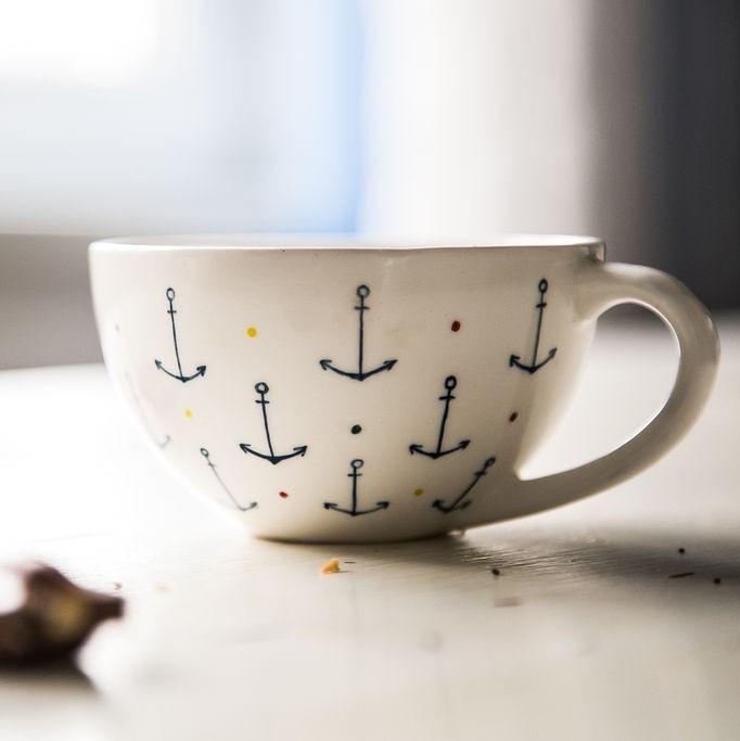 """картинка Чашка """"Юнга"""" - DishWishes.Ru"""