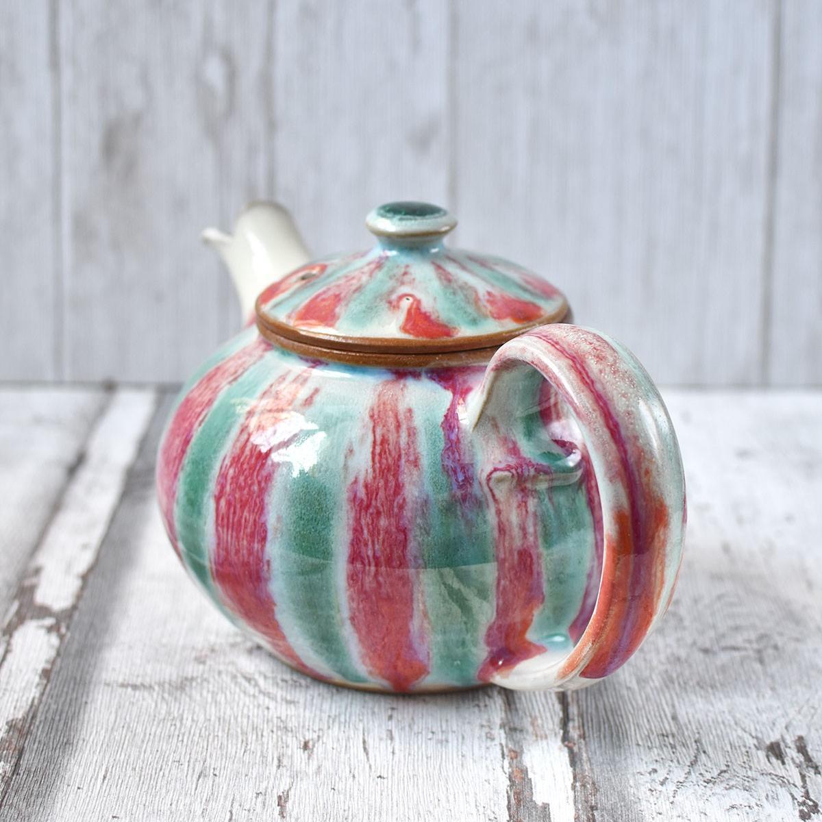 "картинка Керамический чайник ""Арбуз"" - DishWishes.Ru"