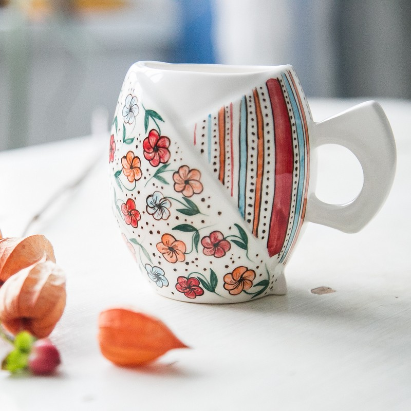 """картинка Чашка """"Цветочная поляна"""" - DishWishes.Ru"""