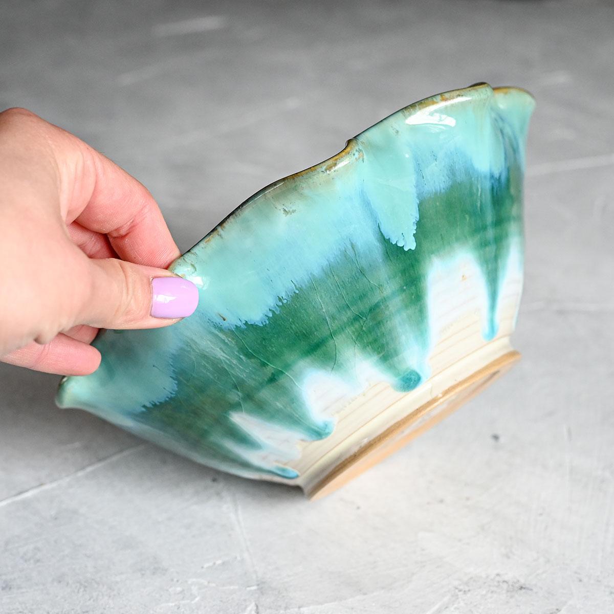 """картинка Керамический салатник ручной работы """"Ракушка"""" - DishWishes.Ru"""