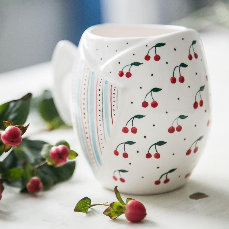 """картинка Чашка """"Вишенки"""" - DishWishes.Ru"""